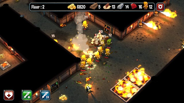Super Dungeon Run PC Games Gameplay
