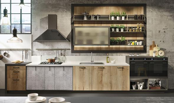 cucina stile industriale, design, post sponsorizzato