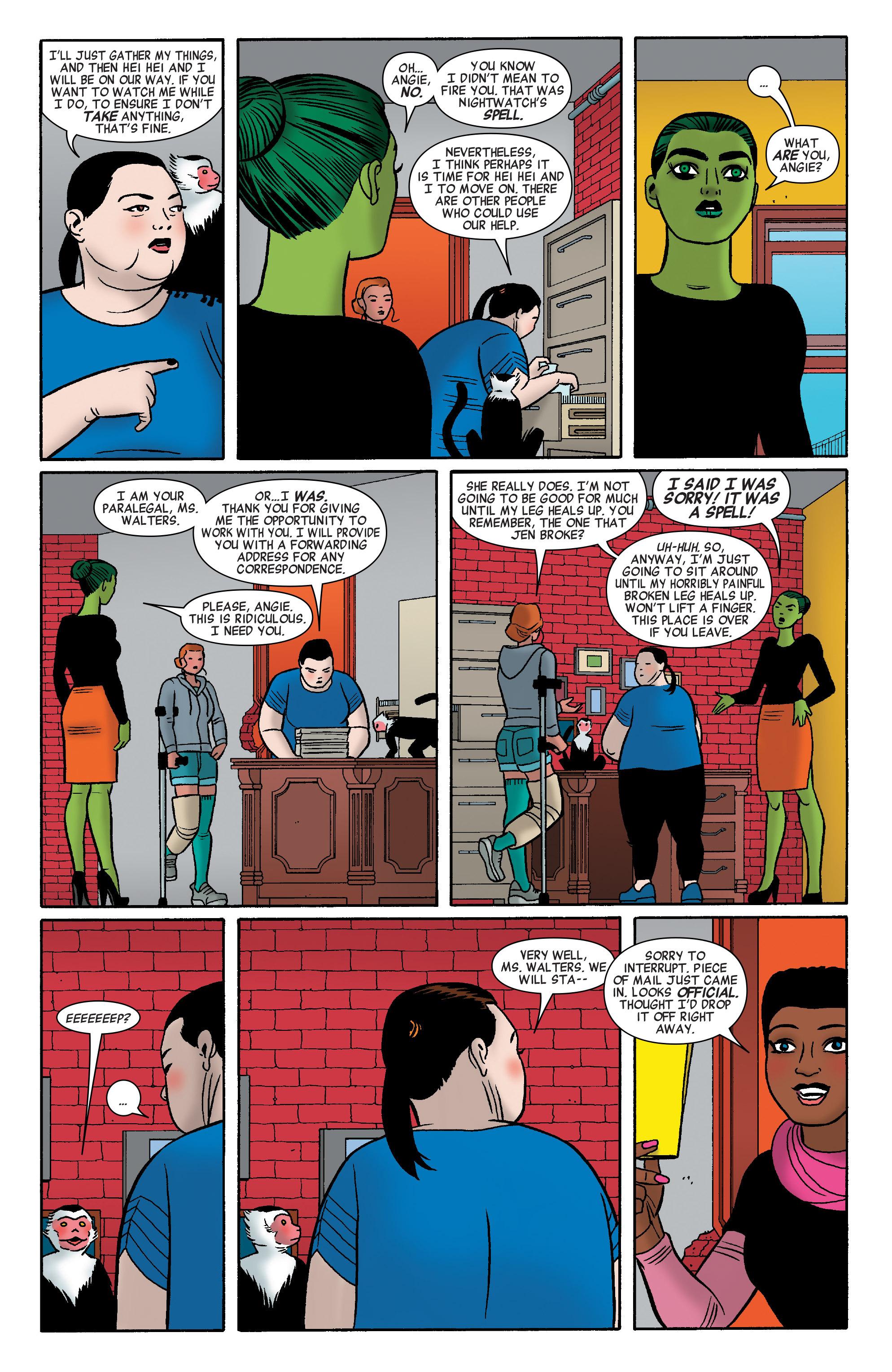 Read online She-Hulk (2014) comic -  Issue #12 - 19
