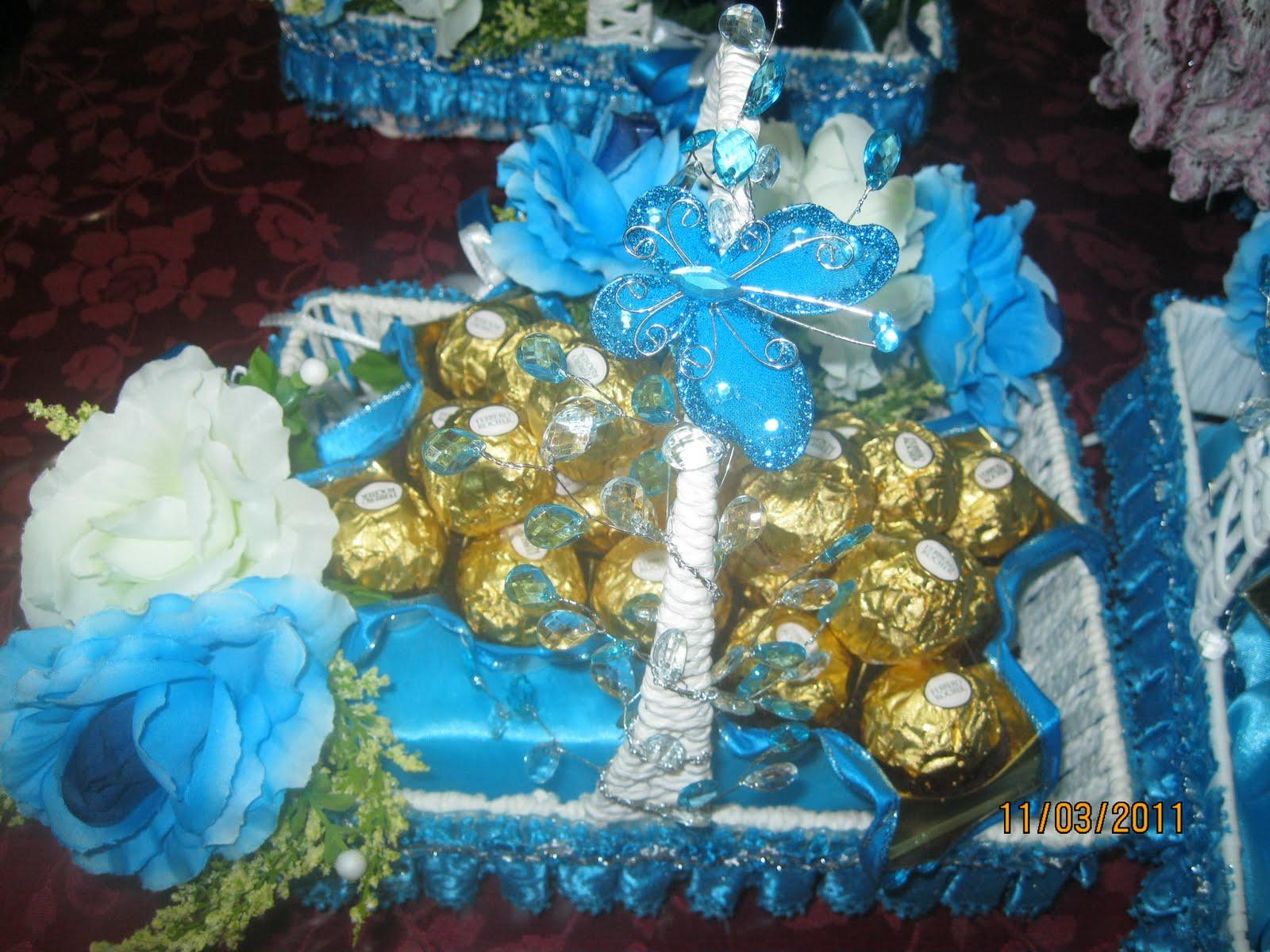 pin gubahan hantaran cokolat - photo #23