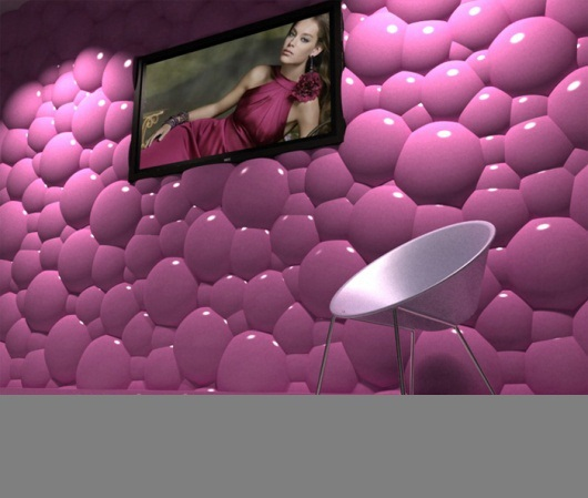 3D wall panels - plastic wall panel design ideas
