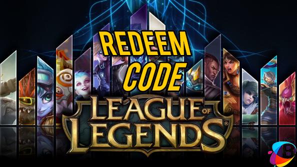 Redeem Code LoL Garena Indonesia Terbaru