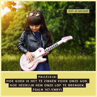 Leef je Geloof, Hillie Snoeijer: Zing voor God!
