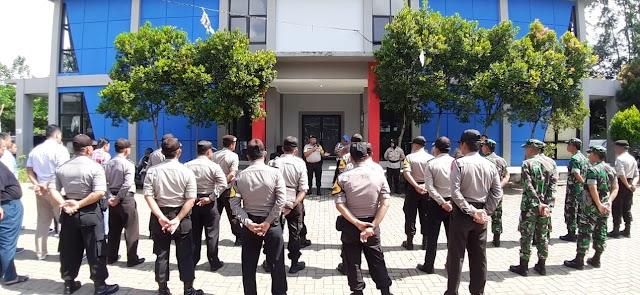 Polsek Neglasari Gelar Pengamanan 'Rapat Pleno' Terbuka