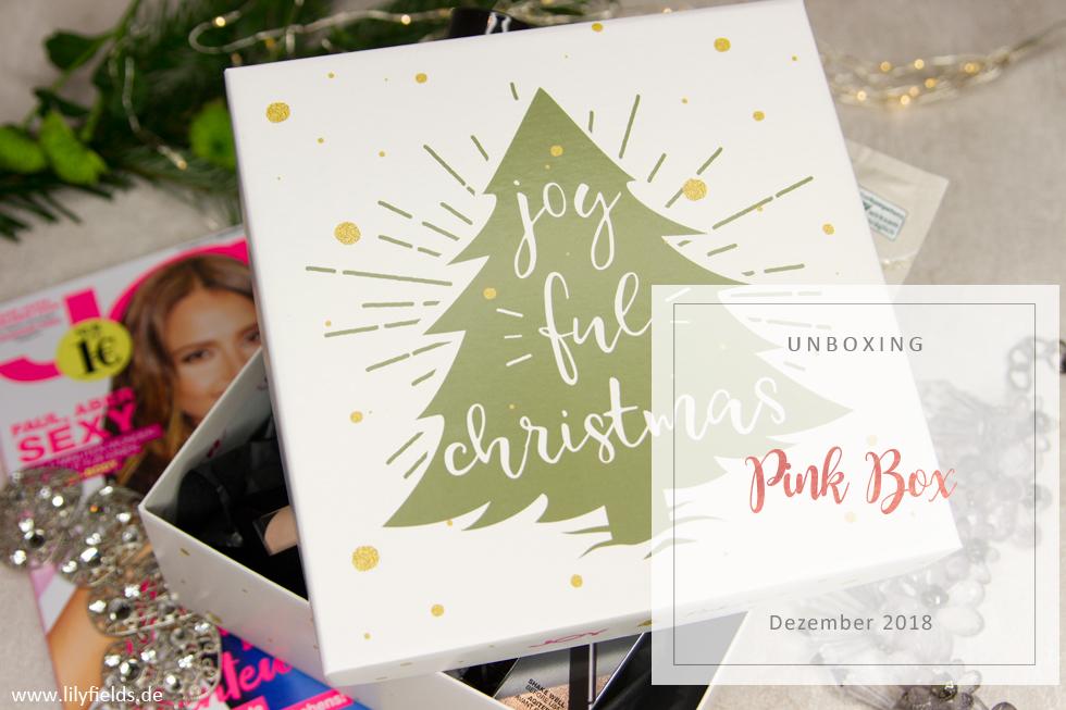 Pink Box - Dezember 2018 - unboxing