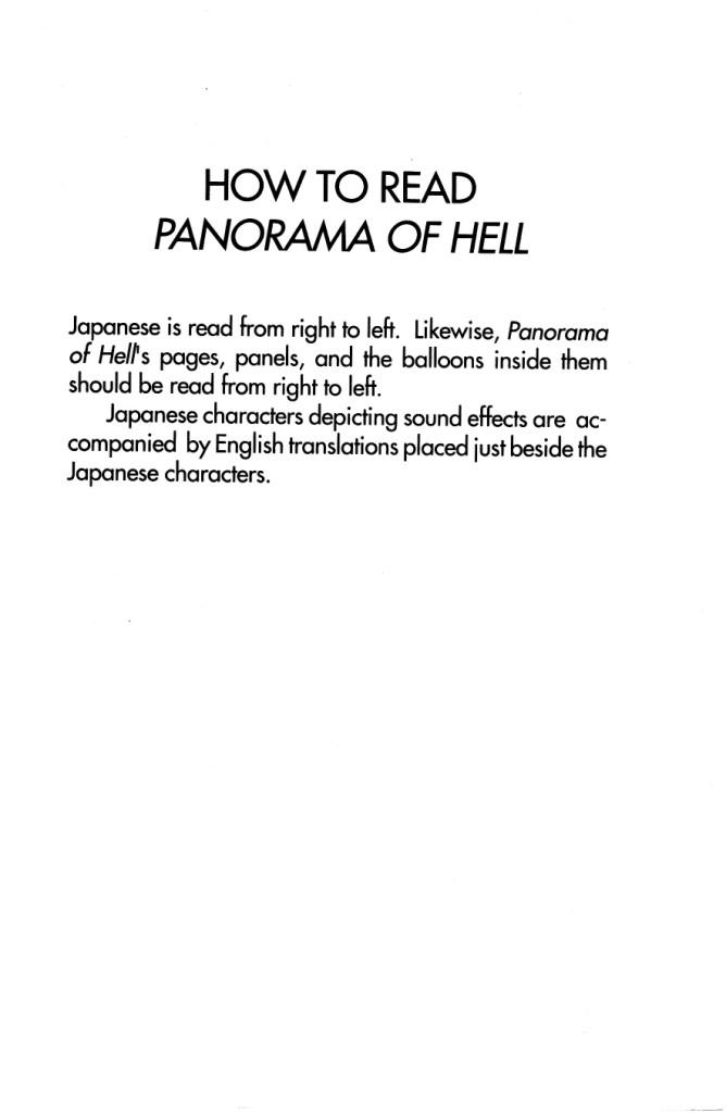 Panorama Of Hell chap 1 trang 3