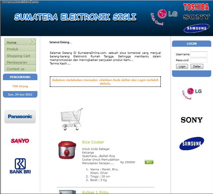 Bab 2 sistem informasi penjualan berbasis webcam