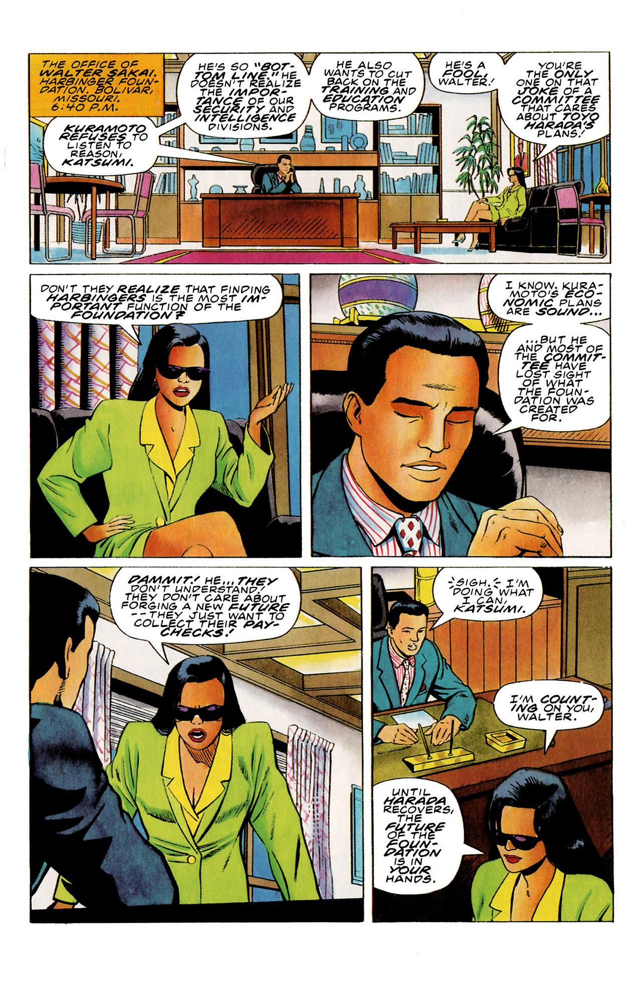 Read online Harbinger (1992) comic -  Issue #27 - 13