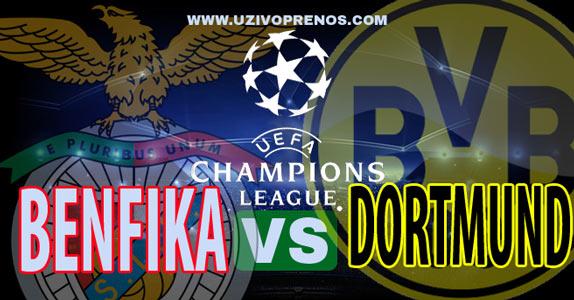 Liga šampiona: Benfika - Dortmund