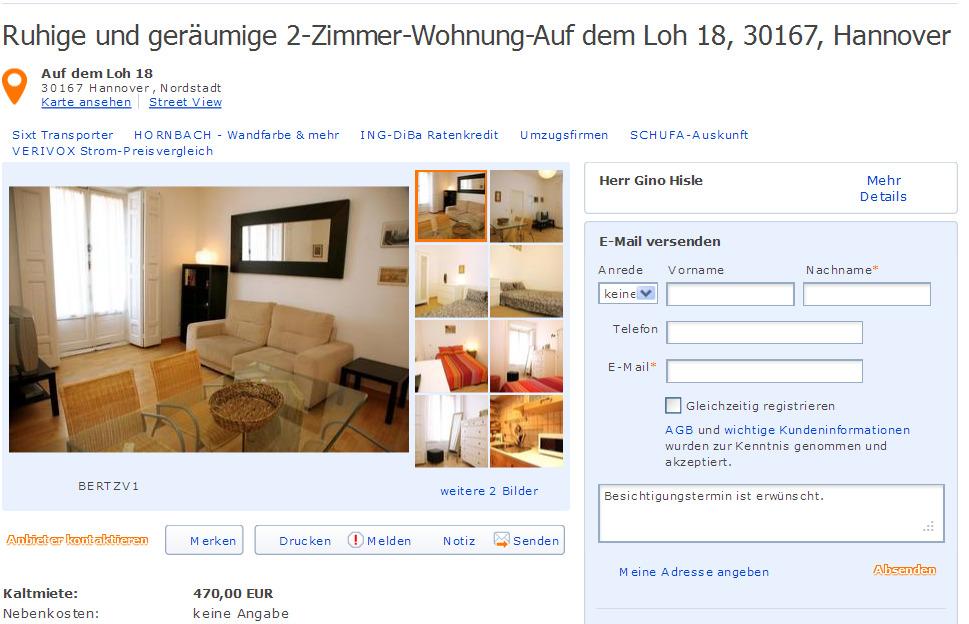 Zimmer Wohnung Bielefeld