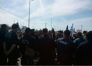 Κρήτη: Τα ΜΑΤ περίμεναν τους διαδηλωτές στο αεροδρόμιο [pics]