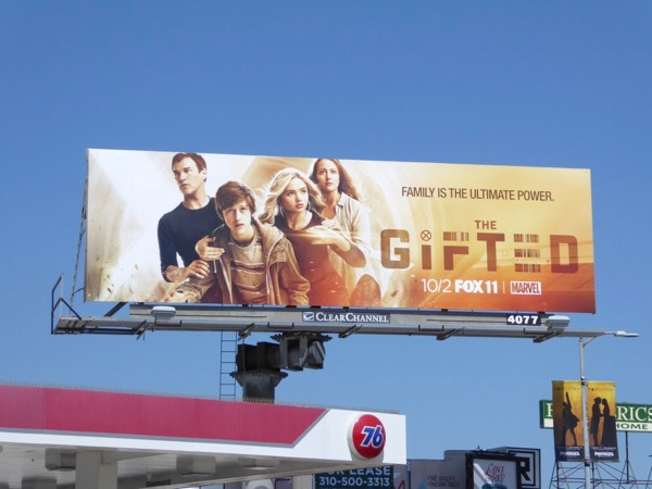 Marvel Gifted TV series billboard