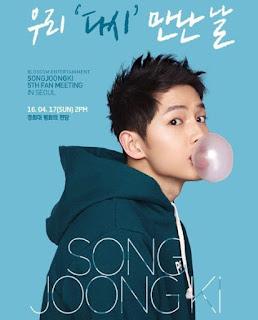 "Nama Song Soong Jong Ki ""Descendants of the Sun"" Sukses Sodok Posisi Park Shin Hye Dalam Jajaran Model Iklan dengan Reputasi Terbaik !"