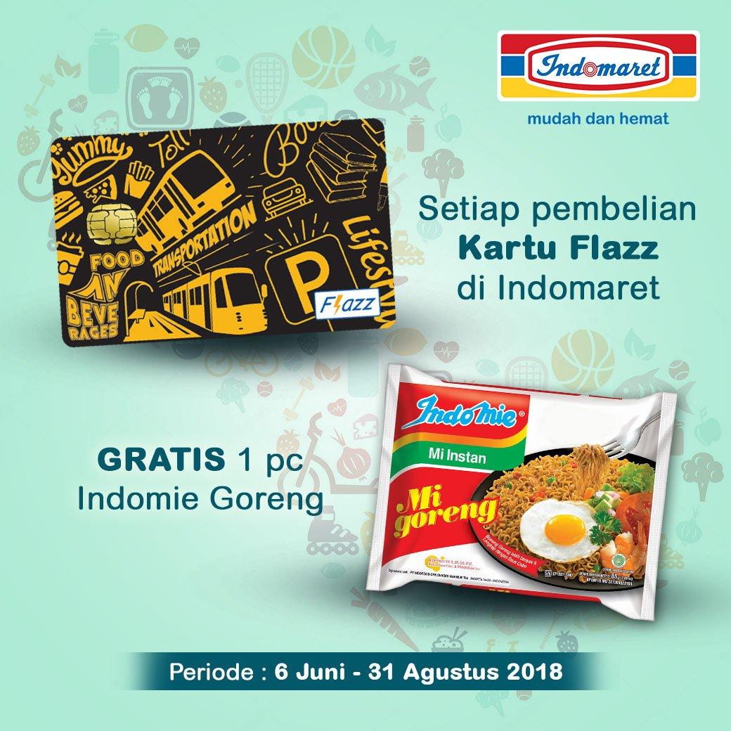 Indomaret Beli Flazz Dapat 1 Pc Indomie Goreng Sd 21 Agustus Kartu Dapatkan Untuk Pembelian Di Lumayan Ya Dimasak Ganjel Perut