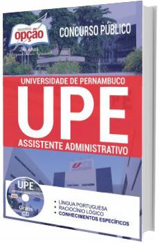 Apostila UPE 2017 Assistente Administrativo