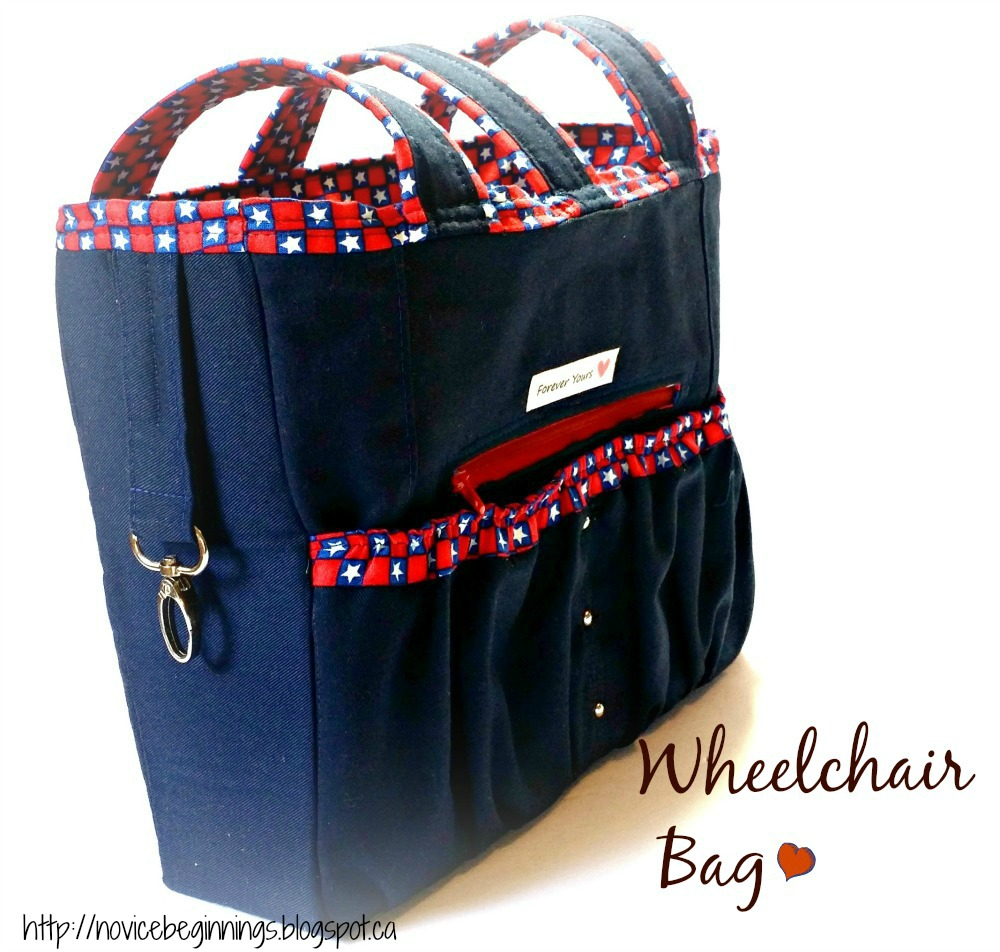 It Once Was Wheelchair Bag