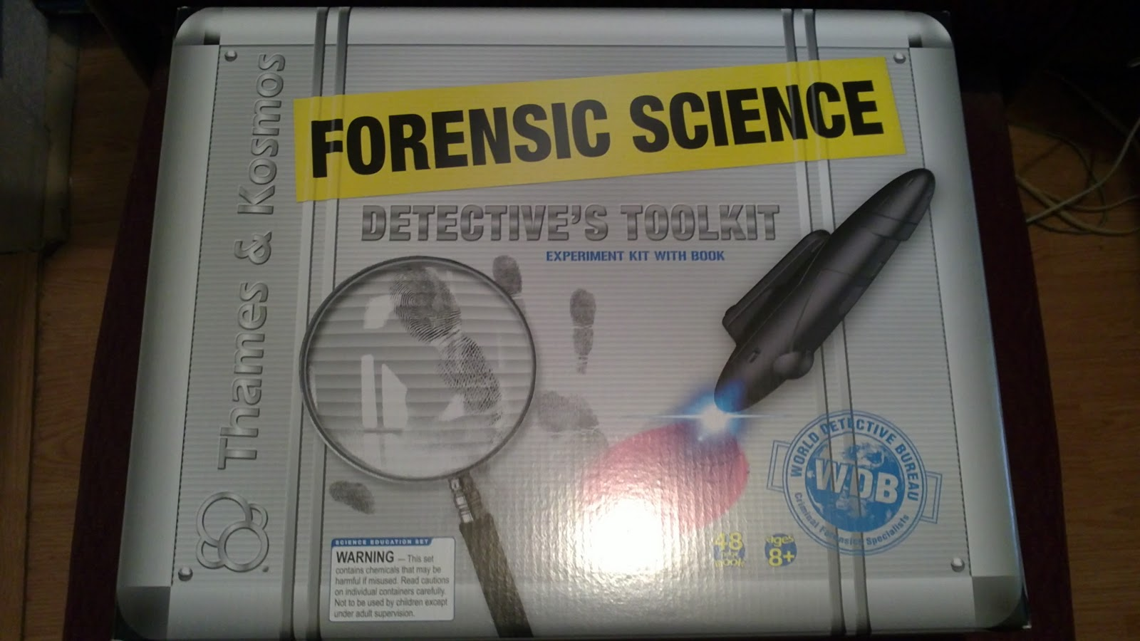 Hope S Cafe Sgsg Mindware Forensic Detective S Toolkit For Kids Review And Giveaway