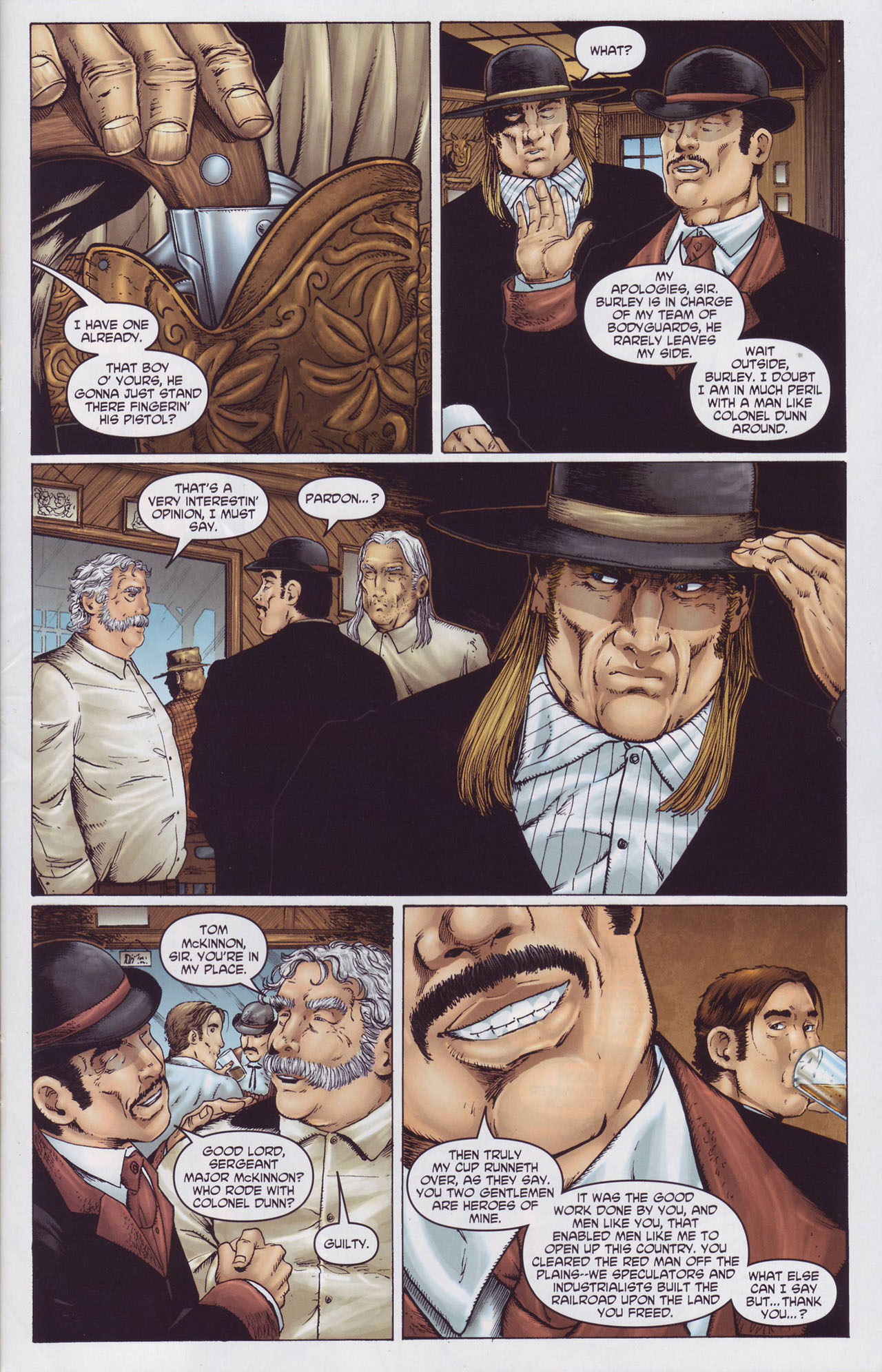 Read online Garth Ennis' Streets of Glory comic -  Issue #2 - 11