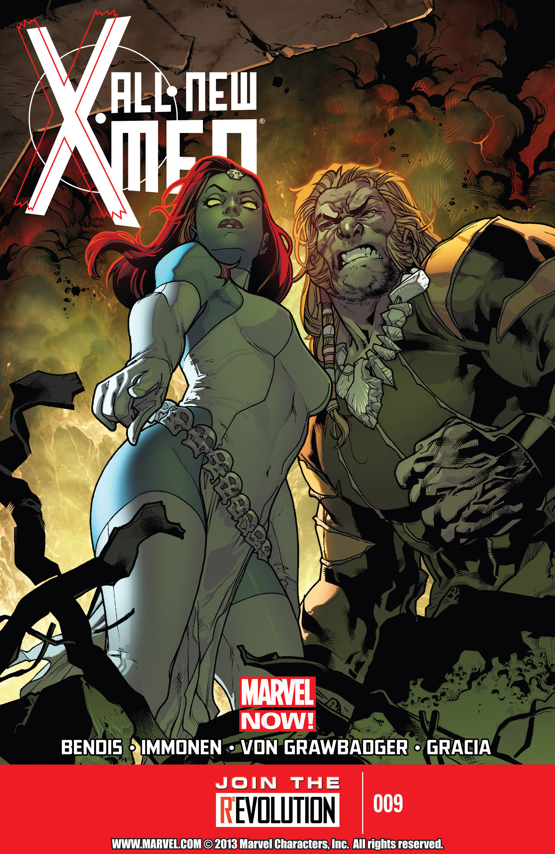 Read online All-New X-Men (2013) comic -  Issue #9 - 1
