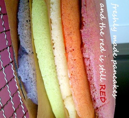 Pandan  Layer Pancake Cake