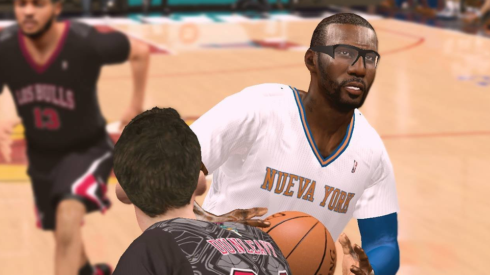 NBA 2K14 Amar'e Stoudemire w/ Beard Patch