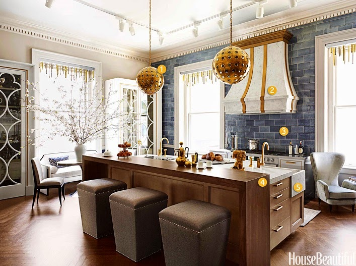 Glam Bathroom By Matthew Quinn: Mix And Chic: Favorite Room Of The Week
