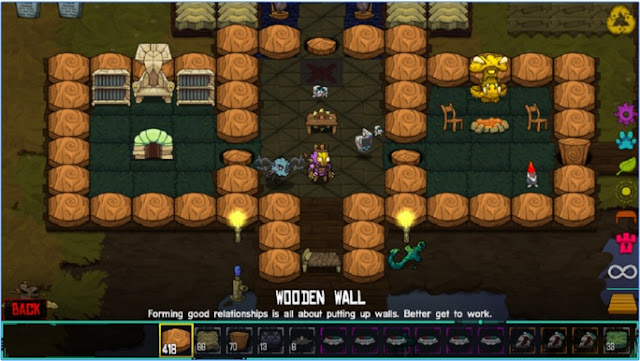 cara bermain Crashlands RPG apk di android