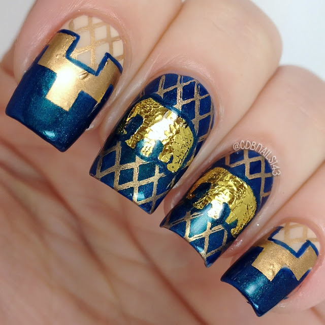 Sweet World of Nails-Gold Elephant