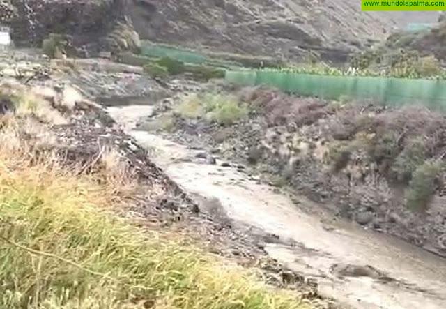 La lluvia deja hasta 53 l/m2 en La Palma