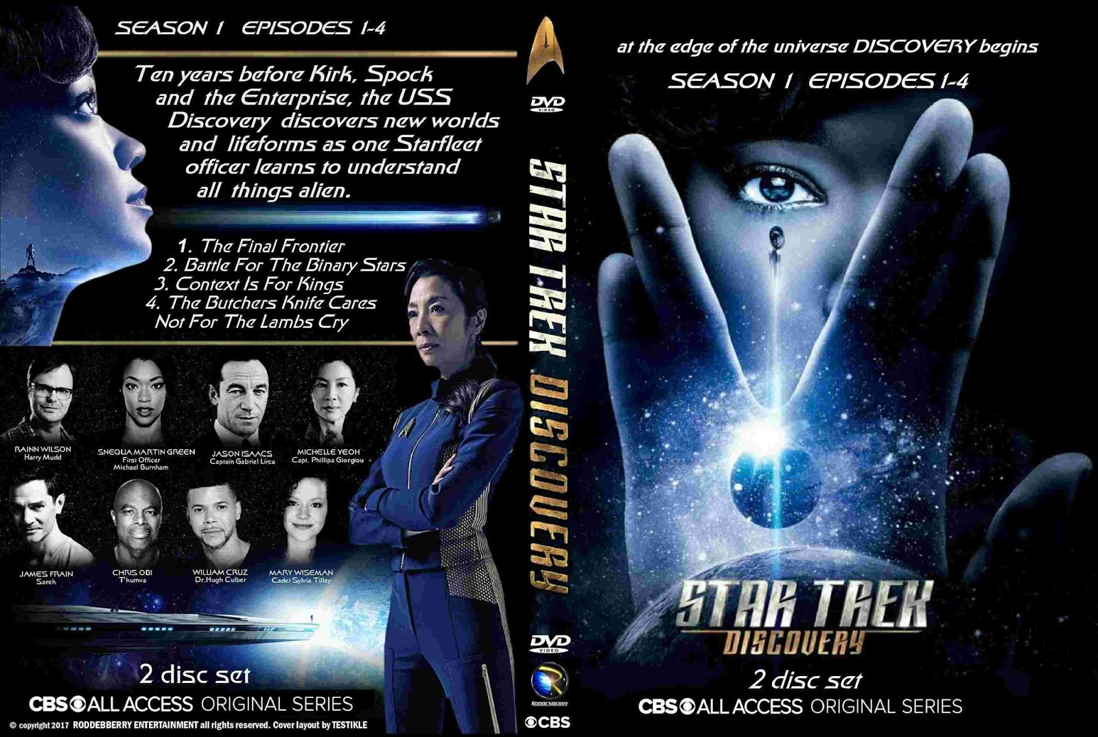 Star Trek Discovery Dvd