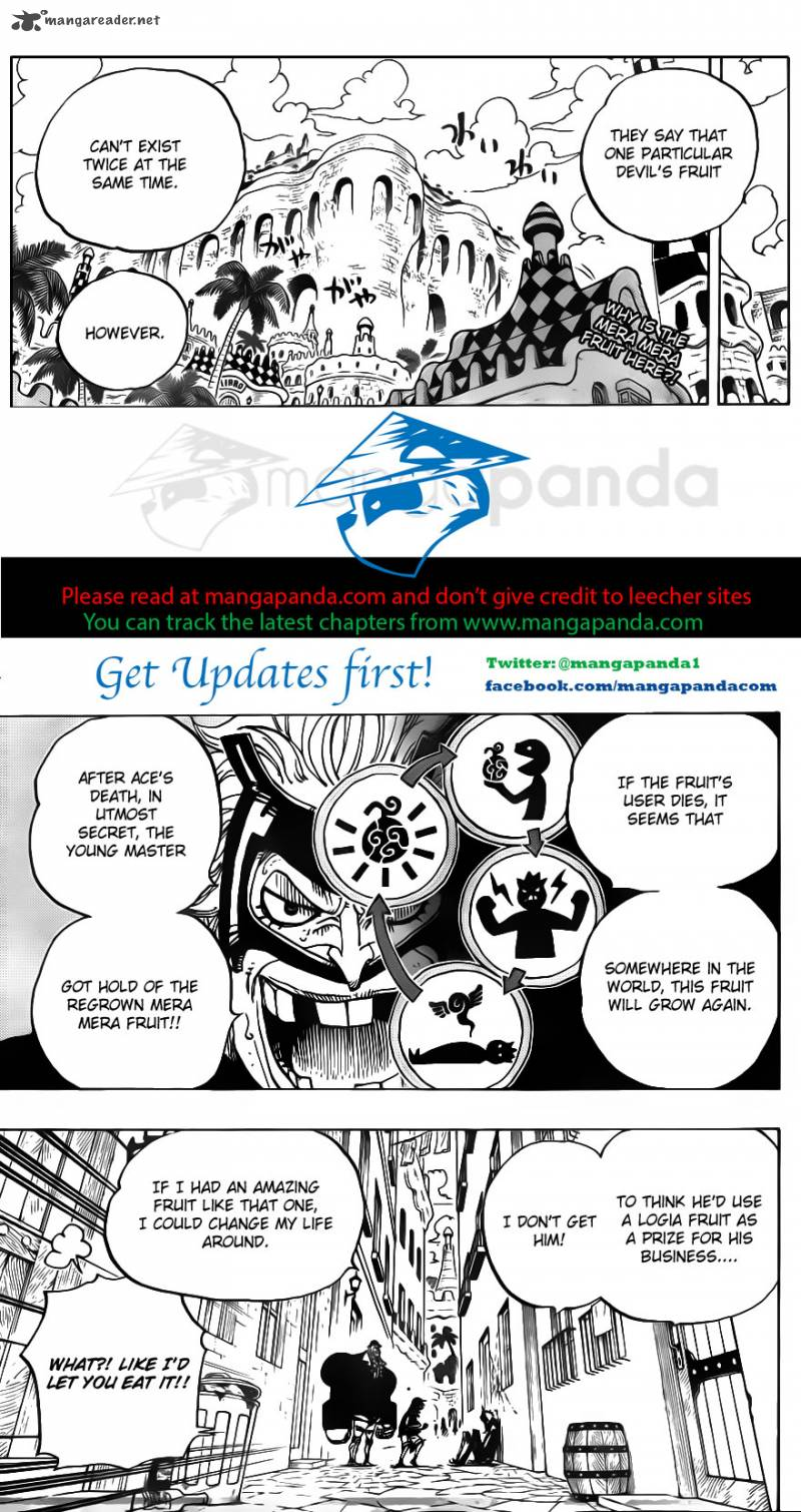 One Piece Ch 703: Waiting Room