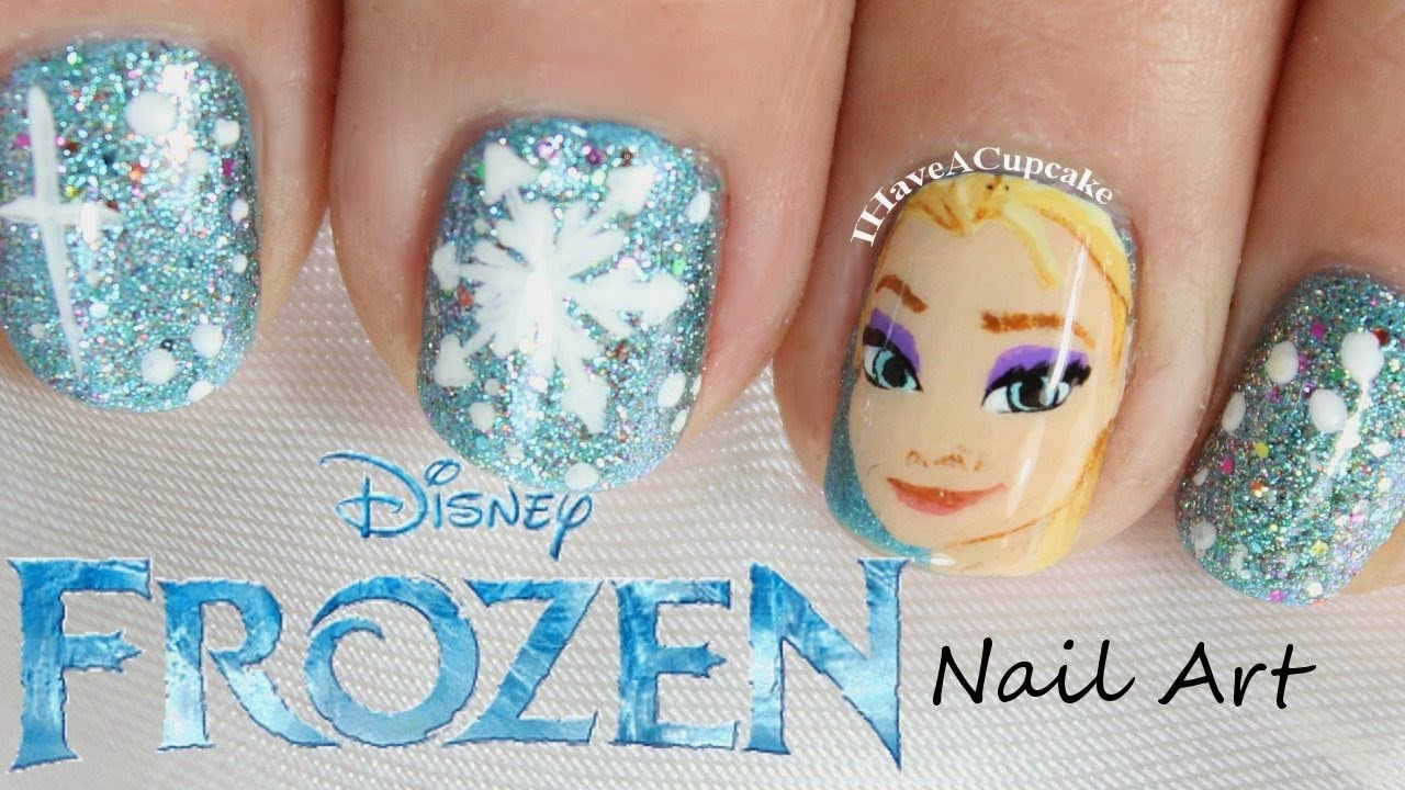 Shining Frozen Nails. | Oh My Nails!