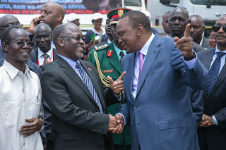 Rais wa Kenya Amuandikia Barua Magufuli