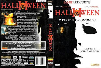 Filme Halloween 2 - O Pesadelo Continua DVD Capa