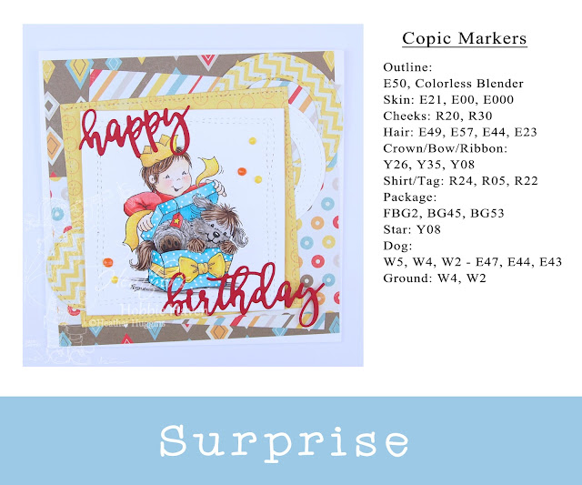 Heather's Hobbie Haven - Surprise Card Kit