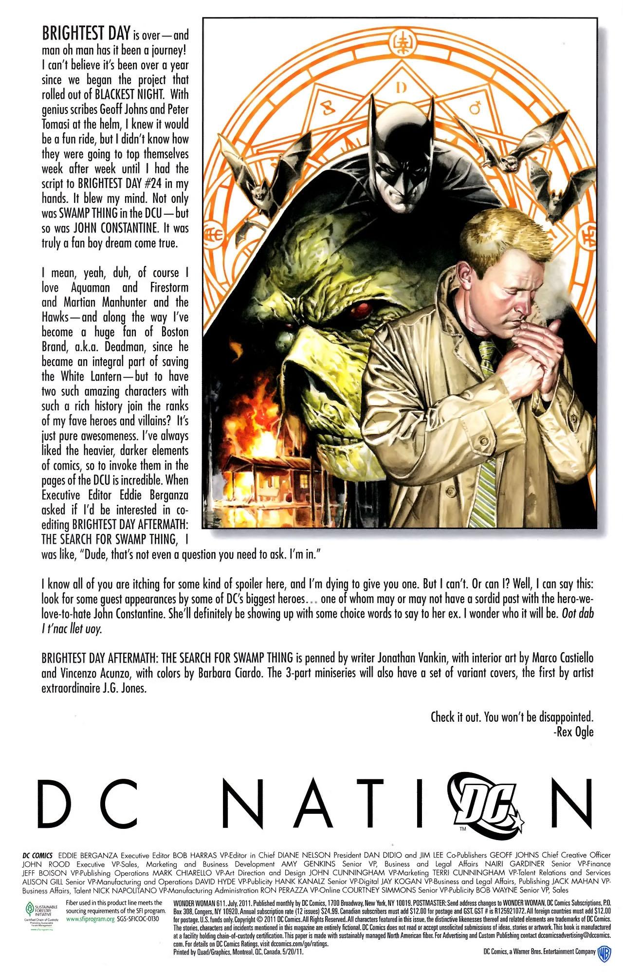Read online Wonder Woman (2006) comic -  Issue #611 - 28