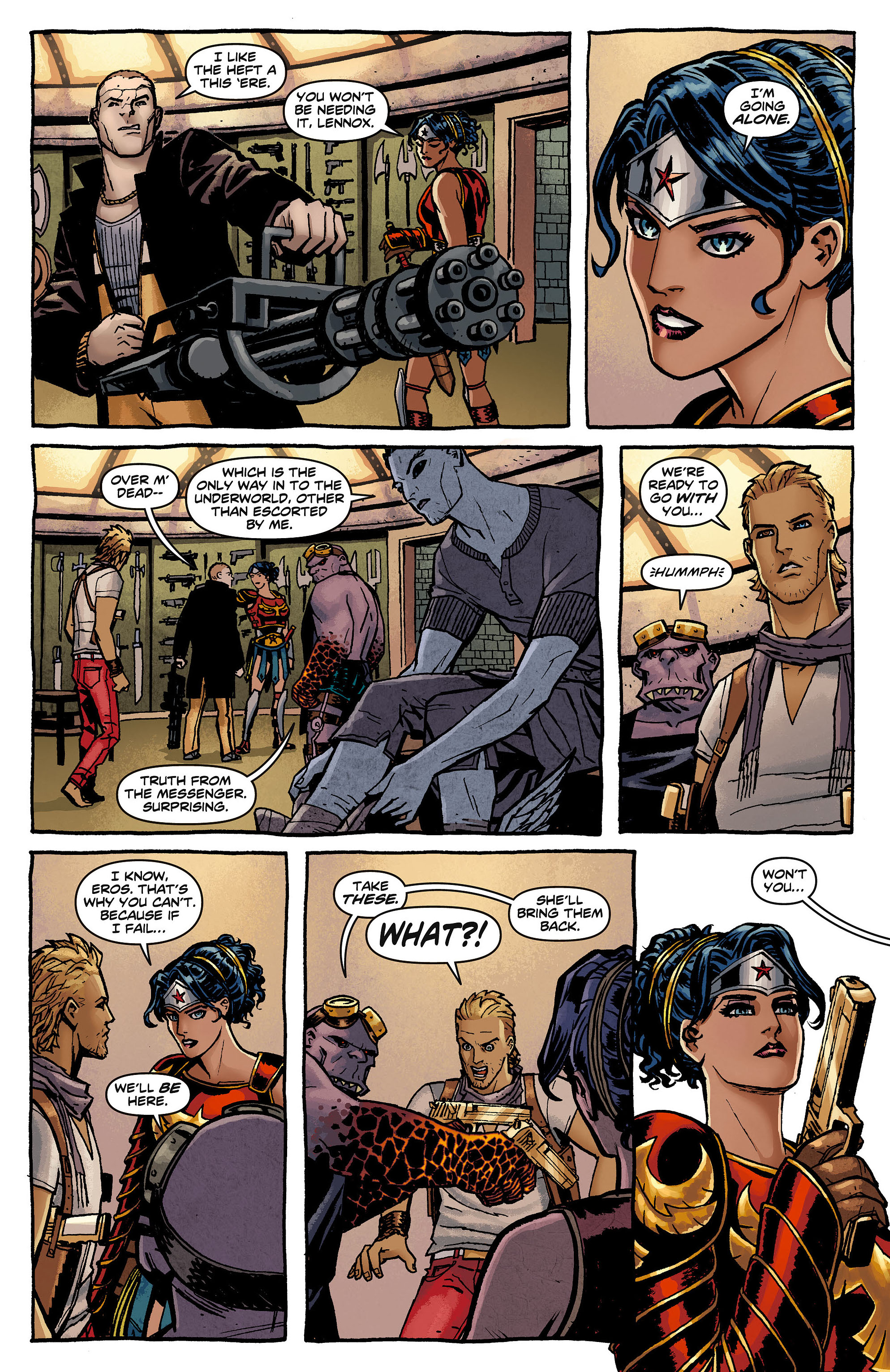 Read online Wonder Woman (2011) comic -  Issue #8 - 4