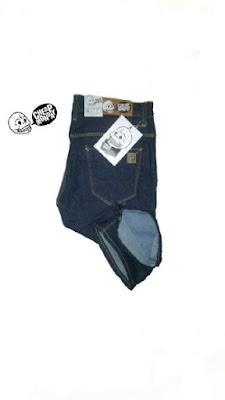 Celana Jeans Pendek Pria DC Biru Dongker