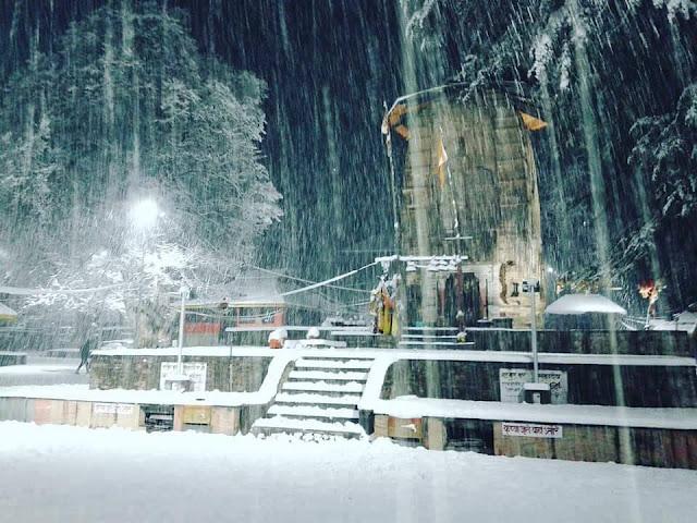 Snowfall In Chamba Himachal Pradesh