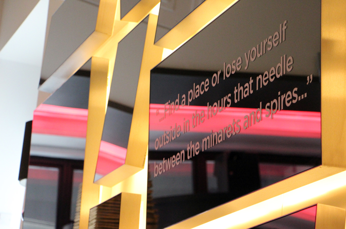 Andaz Liverpool Street London Lobby Quotes