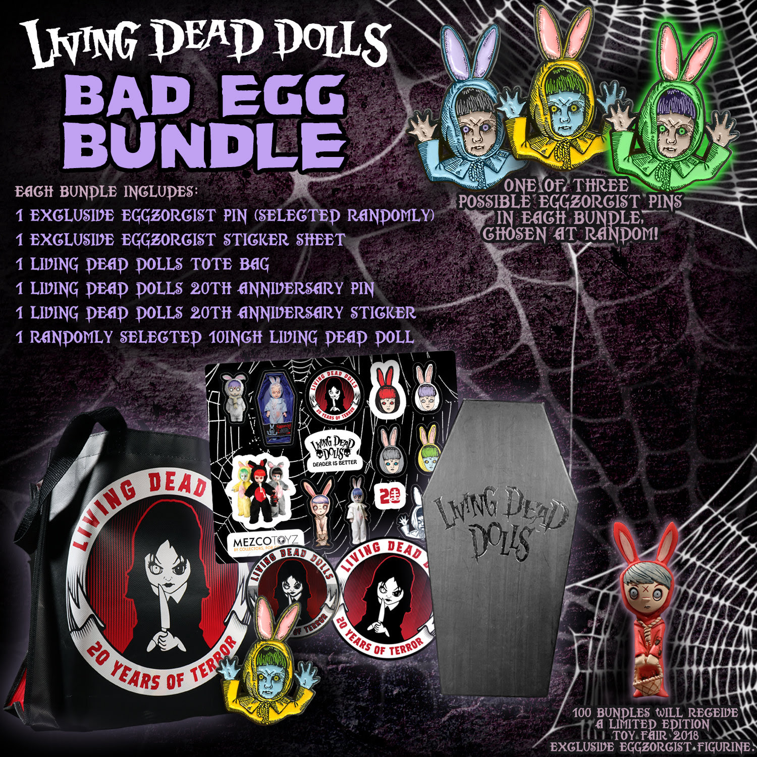 Collecting Toyz Living Dead Dolls Bad Egg Bundle Tony Hawk Circuit Boards By Hexbug Power Axle Set Innovation First