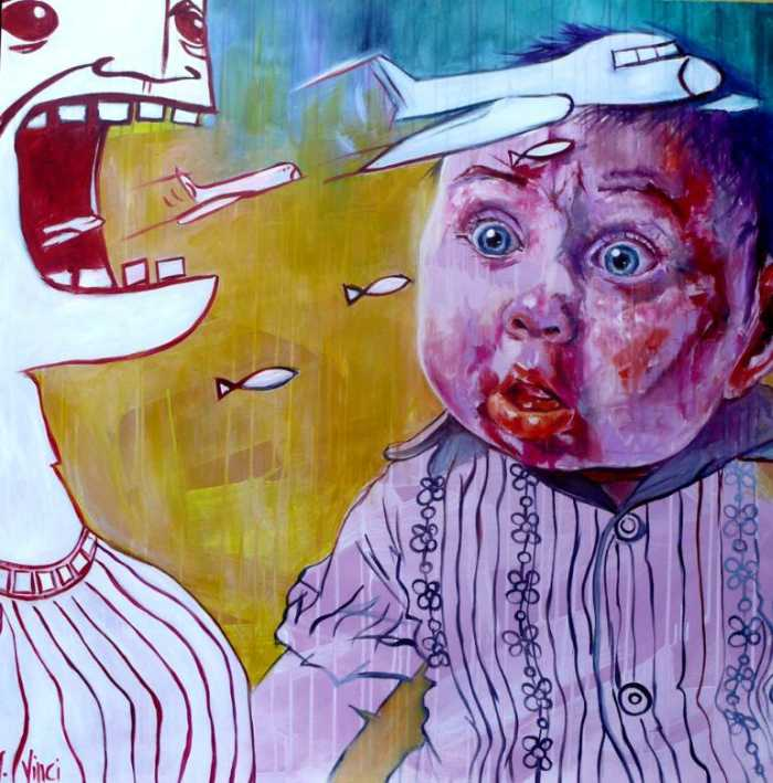 Испанская художница. Angela Vinci