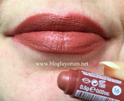Golden Rose Velvet Matte 16 Swatch