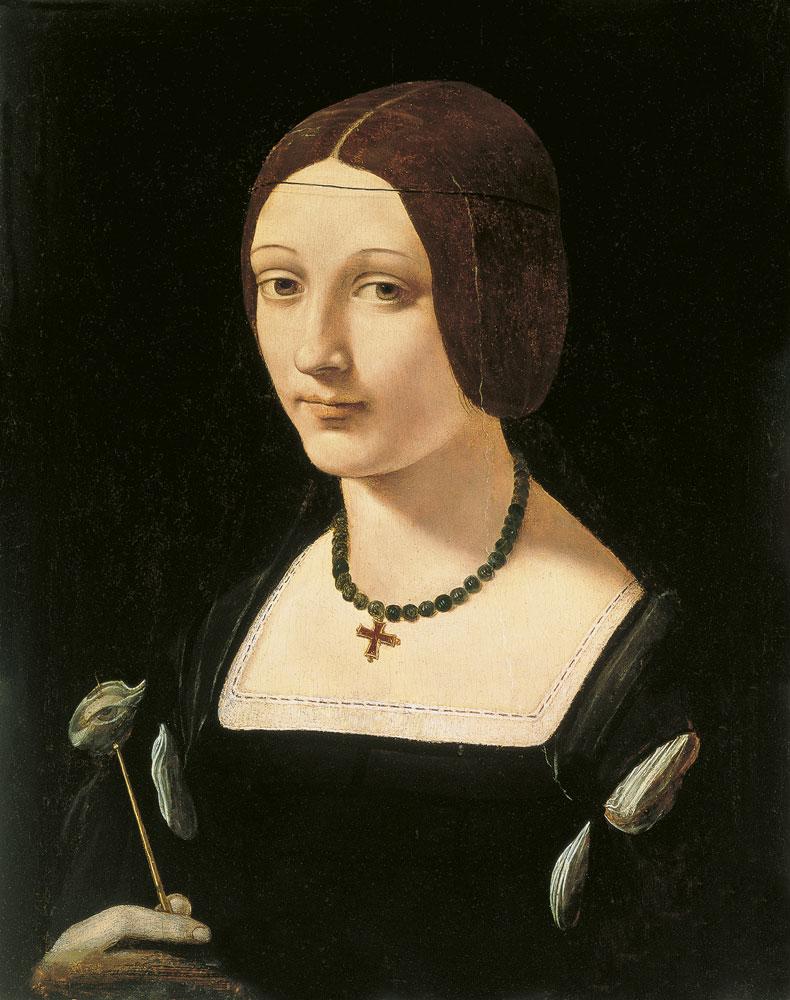 Джованни Антонио Ольтраффио Портрет леди в образе святой Люси