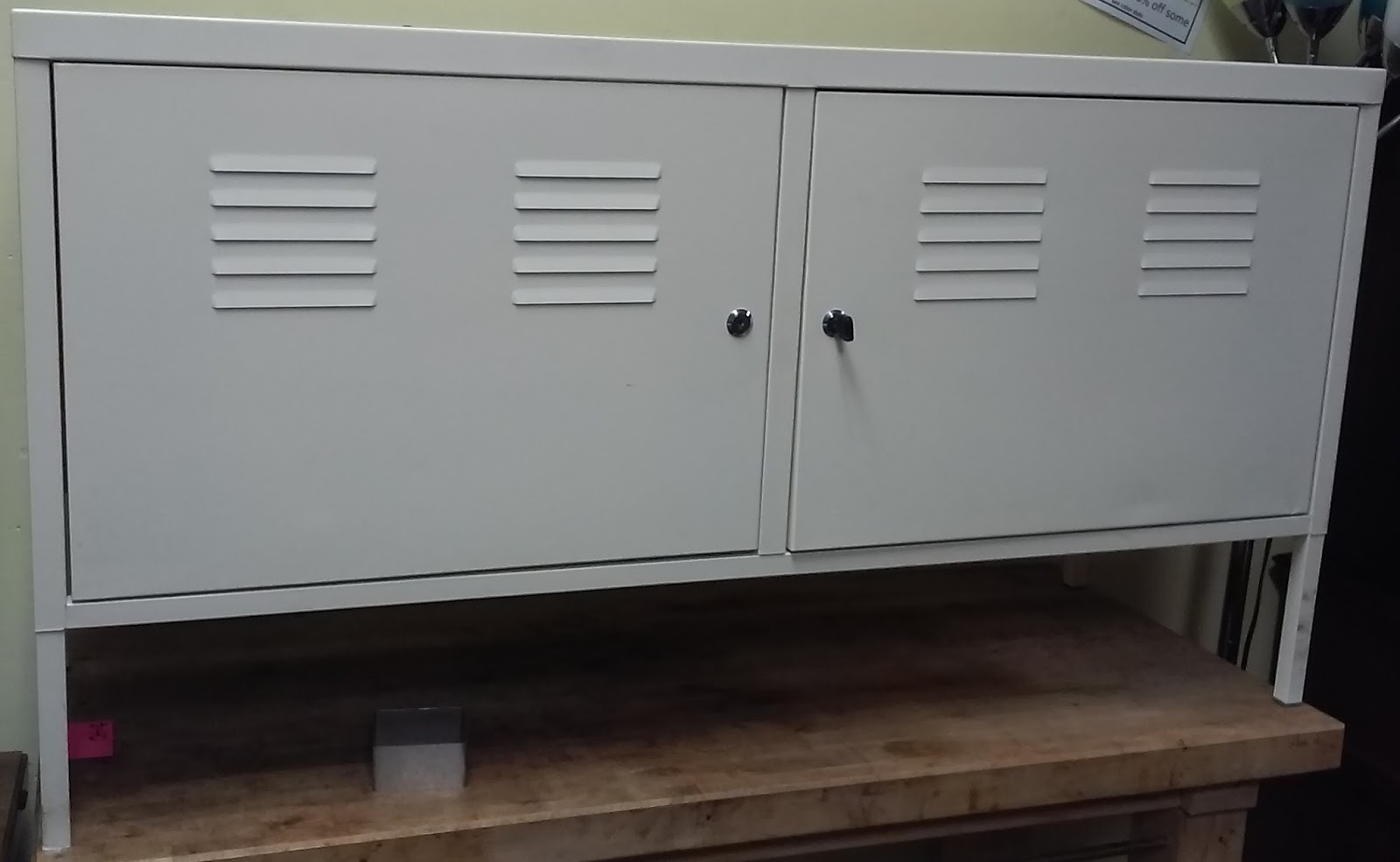SOLD IKEA PS Locker Cabinet With Key   $65