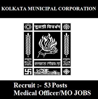 Kolkata Municipal Corporation, KMC, West Bengal, MO, Medical Officer, Graduation, WB, freejobalert, Sarkari Naukri, Latest Jobs, kmc logo