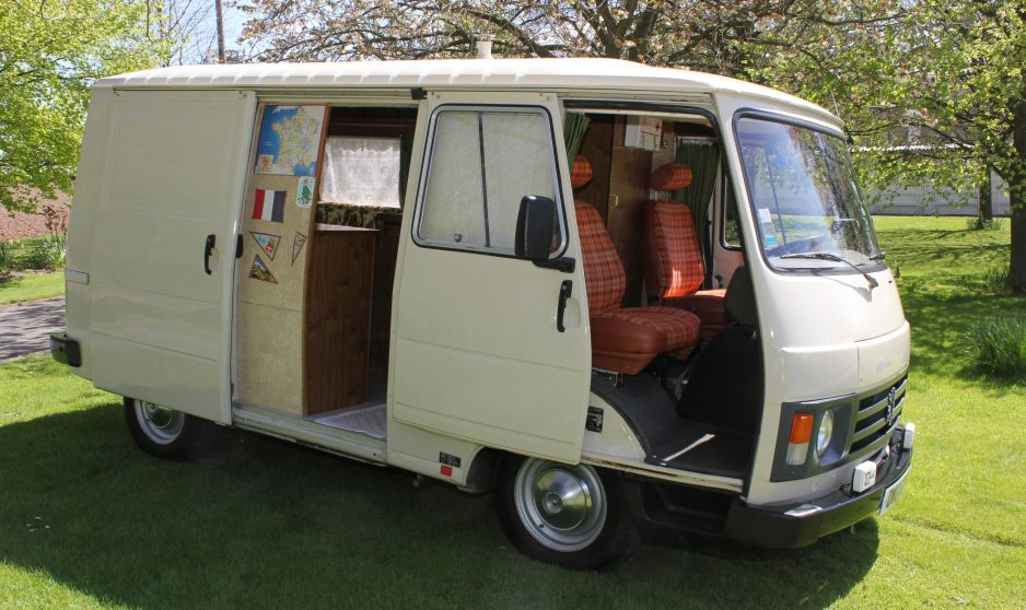 North Park Vw >> Rare Peugeot J9 Campervan - RV & Camper