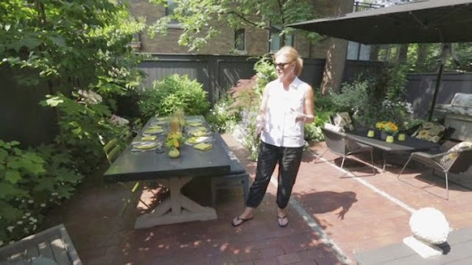Small Yard...Not a Big Problem TV Hosts Marilyn Denis's Small Backyard Solutions