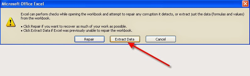 Fix Excel Error - The file you are trying to open is in different