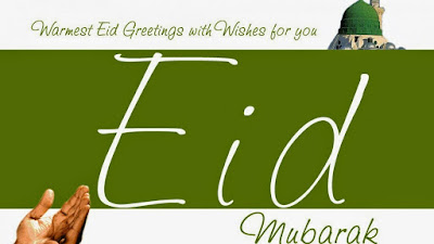 eid mubarak greetings in english